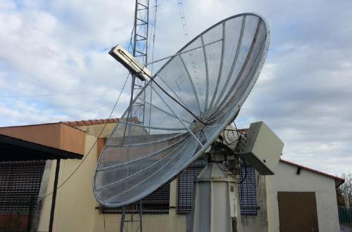 La parabole des radioamateurs de Colomiers F5KUG