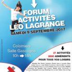 Forum des activités Léo Lagrange 2017