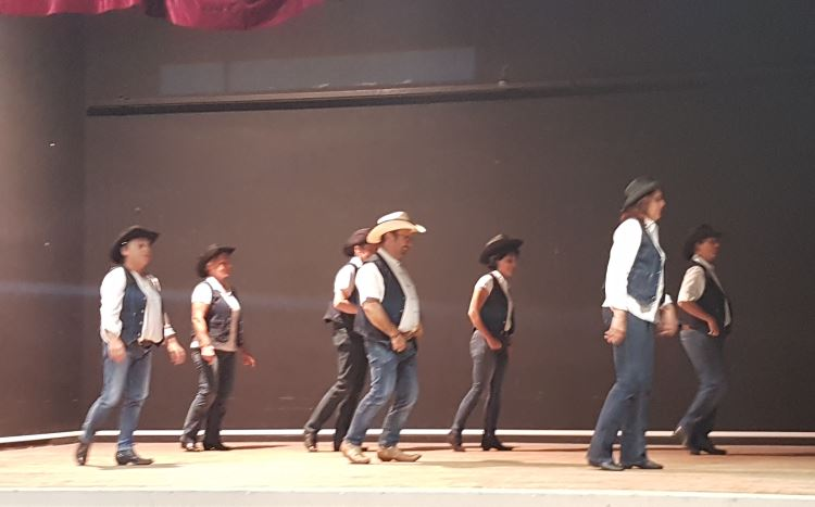Danse country et en ligne à Léo Lagrange