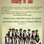 Découvrir la Danse country et line au CLLL