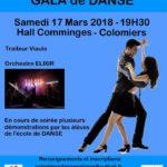 Grand Gala de Danse le 17 mars 2018
