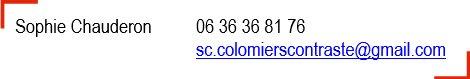 Contact Colomiers Contraste