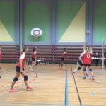 le 23/03/2019, qualification de l'équipe féminine de Volley Ball