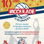 """Volley ball : les 10 ans du tournoi """"La Ricoulade"""""""