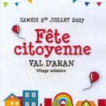 Fête Citoyenne du Val d'Aran 2017