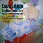 Expo de l'Atelier de Peinture du CLLL – Juin 2017