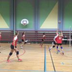 le 23/03/2019, qualification de l'équipe féminine de Volley Ball