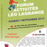 Forum des activités Léo Lagrange Colomiers le 7 septembre 2019