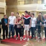 Les jeunes du Volley félicités par la mairie le 27 septembre 2019