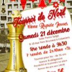 10ème Tournois Rapides d'Echecs de Noël