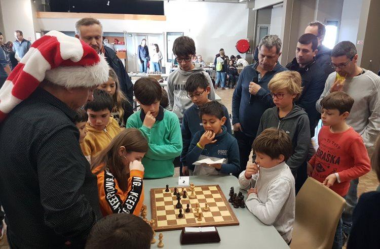 Tournoi rapide jeunes d'échecs de Noël 2019