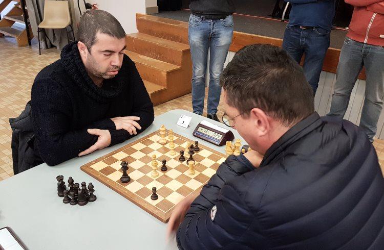 Open rapide d'échecs de Noël 2019