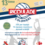 Grand tournoi de Volley le 5 avril 2020