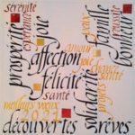 La Calligraphie continue en visio